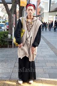 ファッションコーディネート原宿・表参道 2010年12月 IPPEIさん