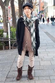 ファッションコーディネート原宿・表参道 2010年12月 あけむさん
