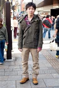 ファッションコーディネート原宿・表参道 2010年12月 武田さん