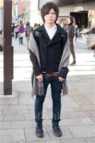 ファッションコーディネート原宿・表参道 2010年12月 てらおたくみさん