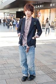 ファッションコーディネート原宿・表参道 2010年12月 梨本雄基さん