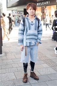 ファッションコーディネート原宿・表参道 2010年12月 鈴木 亮さん