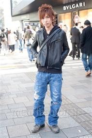 ファッションコーディネート原宿・表参道 2010年12月 永谷幸太郎さん