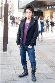 ファッションコーディネート原宿・表参道 2010年12月 池田圭士郎さん
