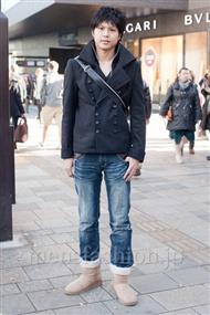 ファッションコーディネート原宿・表参道 2010年12月 ナチョさん