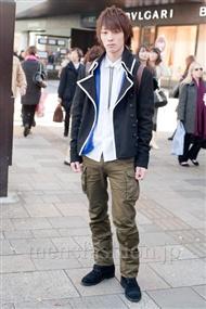 ファッションコーディネート原宿・表参道 2010年12月 安田博紀さん