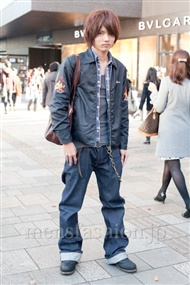 ファッションコーディネート原宿・表参道 2010年12月 森田 昌さん