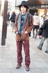ファッションコーディネート原宿・表参道 2010年12月 タツヤさん