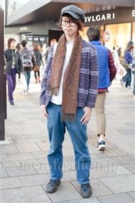 ファッションコーディネート原宿・表参道 2010年12月 タクヤさん