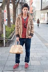 ファッションコーディネート原宿・表参道 2011年1月 広己