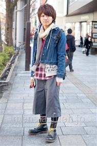 ファッションコーディネート原宿・表参道 2011年1月 塚越雄喜さん