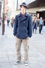 ファッションコーディネート原宿・表参道 2011年1月 山下雅貴さん