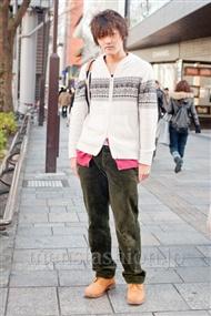 ファッションコーディネート原宿・表参道 2011年1月 村野さん
