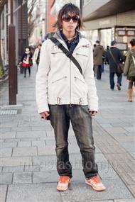 ファッションコーディネート原宿・表参道 2011年1月 佐々木さん