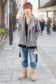 ファッションコーディネート原宿・表参道 2011年1月 ひかるさん