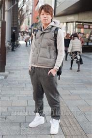 ファッションコーディネート原宿・表参道 2011年1月 平田 崇さん