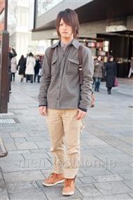 ファッションコーディネート原宿・表参道 2011年1月 Cチャンさん