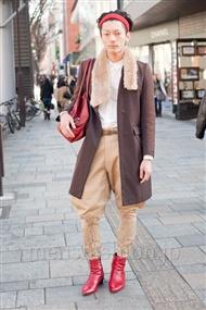 ファッションコーディネート原宿・表参道 2011年1月 IPPEIさん