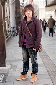 ファッションコーディネート原宿・表参道 2011年1月 タクさん
