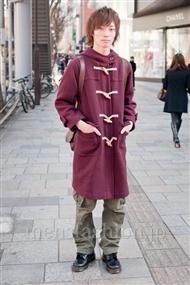 ファッションコーディネート原宿・表参道 2011年1月 安田博紀さん