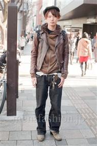 ファッションコーディネート原宿・表参道 2011年1月 鈴木洋平さん