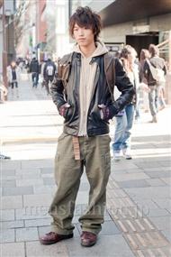 ファッションコーディネート原宿・表参道 2011年1月 石橋大城さん