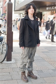 ファッションコーディネート原宿・表参道 2011年1月 住吉翔平さん