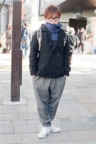 ファッションコーディネート原宿・表参道 2011年1月 宮本啓佑さん