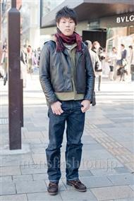 ファッションコーディネート原宿・表参道 2011年1月 けんさん