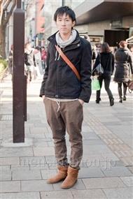 ファッションコーディネート原宿・表参道 2011年1月 JUNYAさん