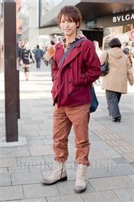 ファッションコーディネート原宿・表参道 2011年1月 坂木亮太(サカッキー)さん