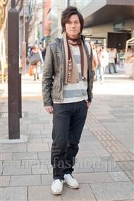ファッションコーディネート原宿・表参道 2011年1月 加藤 輝さん