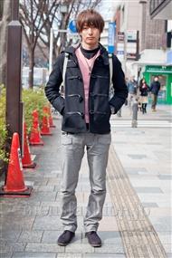 ファッションコーディネート原宿・表参道 2011年2月 和田将誉さん