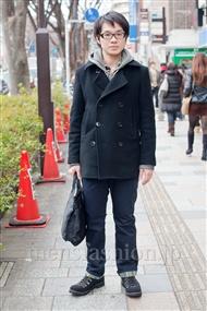 ファッションコーディネート原宿・表参道 2011年2月 ひろさん