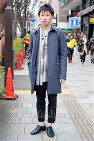 ファッションコーディネート原宿・表参道 2011年2月 レオさん