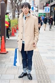 ファッションコーディネート原宿・表参道 2011年2月 西 拓郎さん