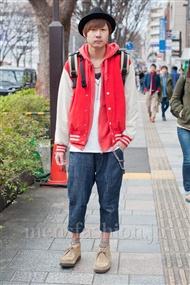 ファッションコーディネート原宿・表参道 2011年2月 小沼克年さん