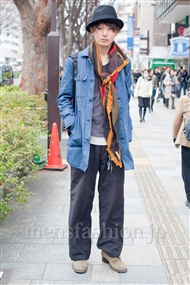 ファッションコーディネート原宿・表参道 2011年2月 鈴木洋平さん