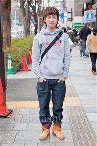 ファッションコーディネート原宿・表参道 2011年2月 なかぁさん