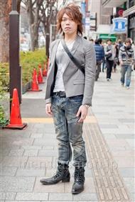 ファッションコーディネート原宿・表参道 2011年2月 やすさん