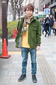 ファッションコーディネート原宿・表参道 2011年2月 坂木亮太(さかっきー)さん