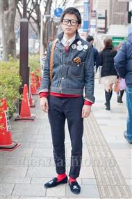 ファッションコーディネート原宿・表参道 2011年2月 手さん