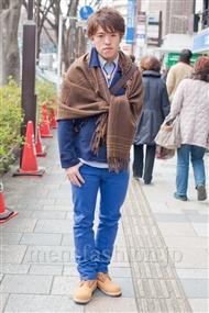 ファッションコーディネート原宿・表参道 2011年2月 宮本啓佑さん