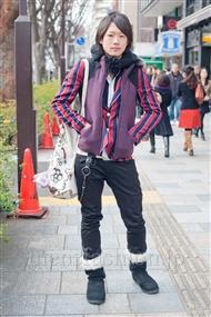 ファッションコーディネート原宿・表参道 2011年2月 M.Nさん