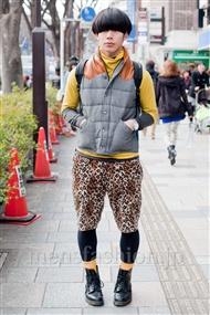 ファッションコーディネート原宿・表参道 2011年2月 しょーいちさん
