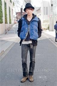 ファッションコーディネート原宿・表参道 2011年3月 鈴木洋平さん