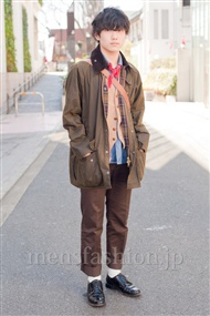 ファッションコーディネート原宿・表参道 2011年3月 坂口正貴さん