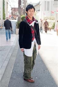 ファッションコーディネート原宿・表参道 2011年3月 シュンスケさん