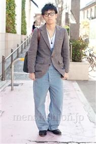 ファッションコーディネート原宿・表参道 2011年3月 勝谷慶祐さん