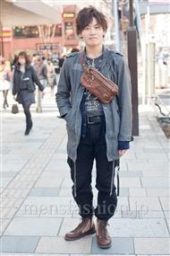 ファッションコーディネート原宿・表参道 2011年3月 柿沼智久さん